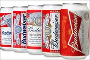 Budweiser: rolls out new can in the UK