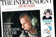 Independent on Sunday: circulation fall of 4.3% for June