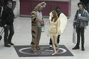 Lynx Excite: augmented reality angles interact with consumers on concourse screens