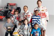 Marks and Spencer: unveils Formula 1 campaign
