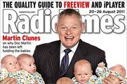 Radio Times: drops 4.9% year on year