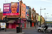 Ashley Madison: erects Boris billboard in Camden