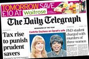 The Daily Telegraph: £10 off at Waitrose