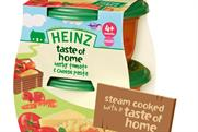 Heinz:  to launch Taste of Home babyfood range