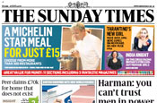 Sunday Times: plans dedicated site