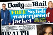 Daily Mail pulls out of joint newspaper ad sales initiative Project Rio