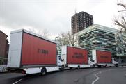 Grenfell campaigners launch 'Three Billboards' inspired protest outside Parliament
