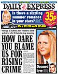 Daily Express: falling readership