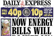 Daily Express: attacks Mail over price rise