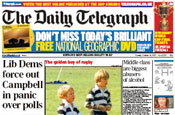 Telegraph: on the hunt for ad agency