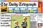 Telegraph: £8.8m loss