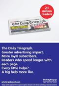 Telegraph: trade-facing ads