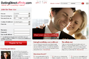 Dating Direct: launches Affinity site
