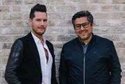 David Frymann (l) with Beyond Collective CEO Zaid Al-Zaidy