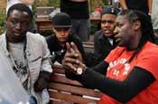 Gyamfi, Rahan, Williams and Robinson: film makers