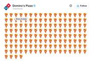 Domino's: US-based pizza lovers can now tweet an emoji to order pizza