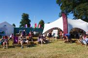 Behind the scenes: Dorset Cereals at Cornbury Festival