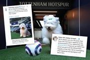 Dulux makes a dog's dinner of Spurs sponsorship