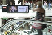 Gatwick Airport: new Eye screens feature L'Oreal's Yves Saint Laurent touche eclat brand