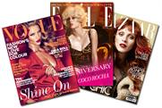 Vogue, Elle and Harper's Bazaar: Special Edition covers
