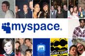 MySpace: links to Twitter