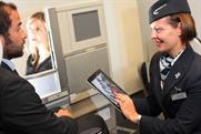 Apple iPad: standard issue for BA cabin crew