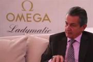 Omega President Stephen Urquhart talks to Event