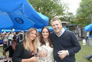 Carat's Alex Lees and Clear Channel's Jemima Stoppard and Rob Atkinson