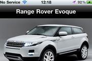 Range Rover: launches Evoque app
