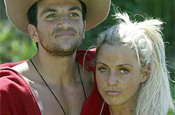 I'm a Celeb: Jordan and Peter Andre in the 2004 show