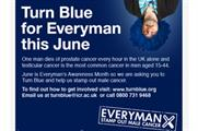 Everyman's Turn Blue campaign