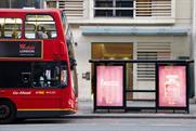 Buzz: advertised outside Harrods in Knightsbridge
