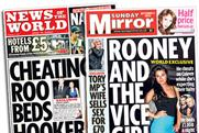 Wayne Rooney: cheat allegations in the Sunday papers