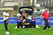 Hyundai: enlists celebrities to film idents for Saturday's match