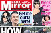 The Mirror: owner reports slowing revenue drop