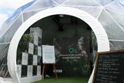 Sky Rainforest Rescue dome at this year's Hay Festival