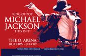 Michael Jackson...tour ad