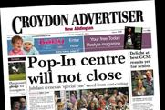 Croydon Advertiser: going part-free, part-paid