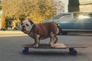The new Churchie: CGI bulldog was created by Untold Studios.