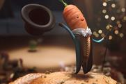 Robbie Williams is a singing carrot in Aldi's Christmas ad