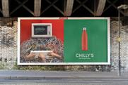 Chilly's: brand launched out of home activity as part of