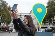 Behind the scenes: EE's giant pin at Marble Arch