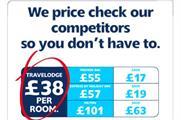 Travelodge price comparison