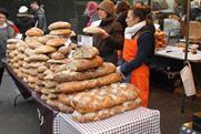 Bread sellers at Borough Market
