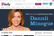 AOL UK: signs up Dannii Minogue as contributing editor to myDaily.com
