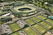 Wimbledon: enlivens tennis queue
