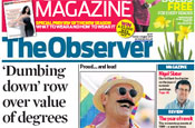 The Observer: cut backs planned