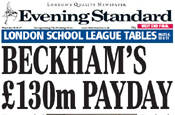 Evening Standard: circulation falls