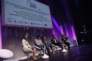 Panellists discuss the importance of relationships in events at Event360 today (Julian Dodd)