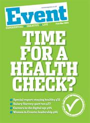 Time for a health check? Read Event's February/March 2014 issue